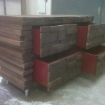 Design practical wooden cabinets Nelspruit