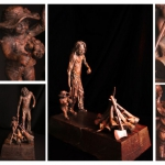Nelspruit Carved Wooden Sculptures