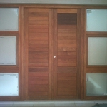 Custom Nelspruit Wooden Doors