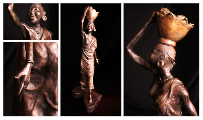 African Art Wooden Sculptures Nelspruit