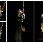 Elegant Wood Sculptures Nelspruit