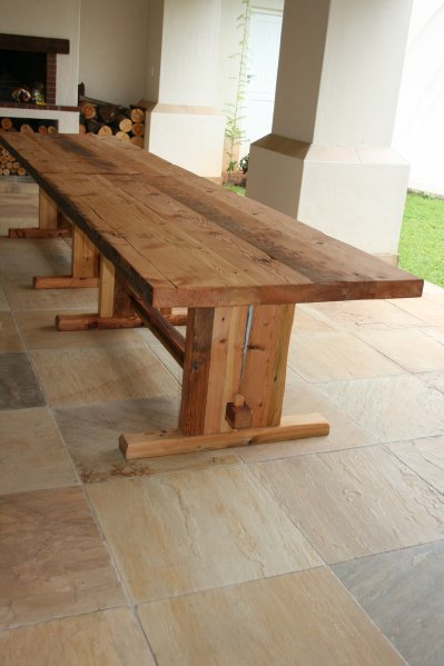 Outdoor Wooden Tables Nelspruit