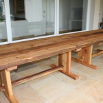 Custom Outdoor Wooden Tables Nelspruit