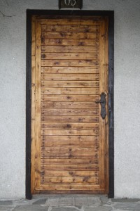 Wooden doors can be customed made