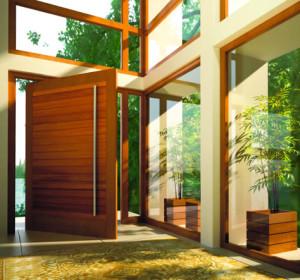 Swartland wooden door
